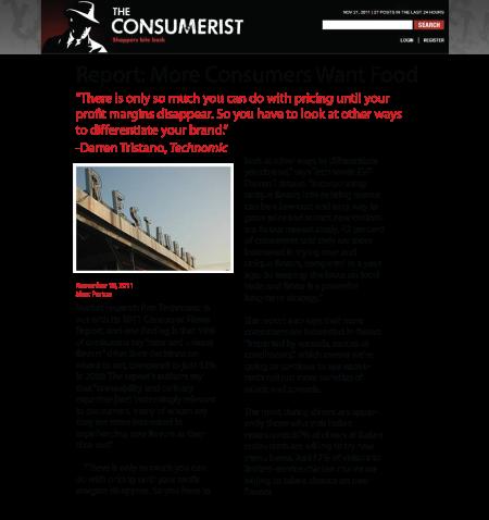 Report Consumers