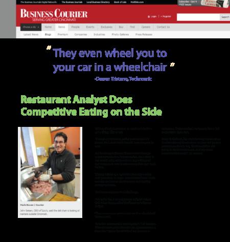 Restaurant Analyst