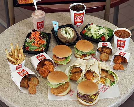 Value Menu In October 1989 Seven Items Ranging From A Junior Bacon Cheeseburger To Garden Side Salad Small Frosty All Priced At 99 Cents