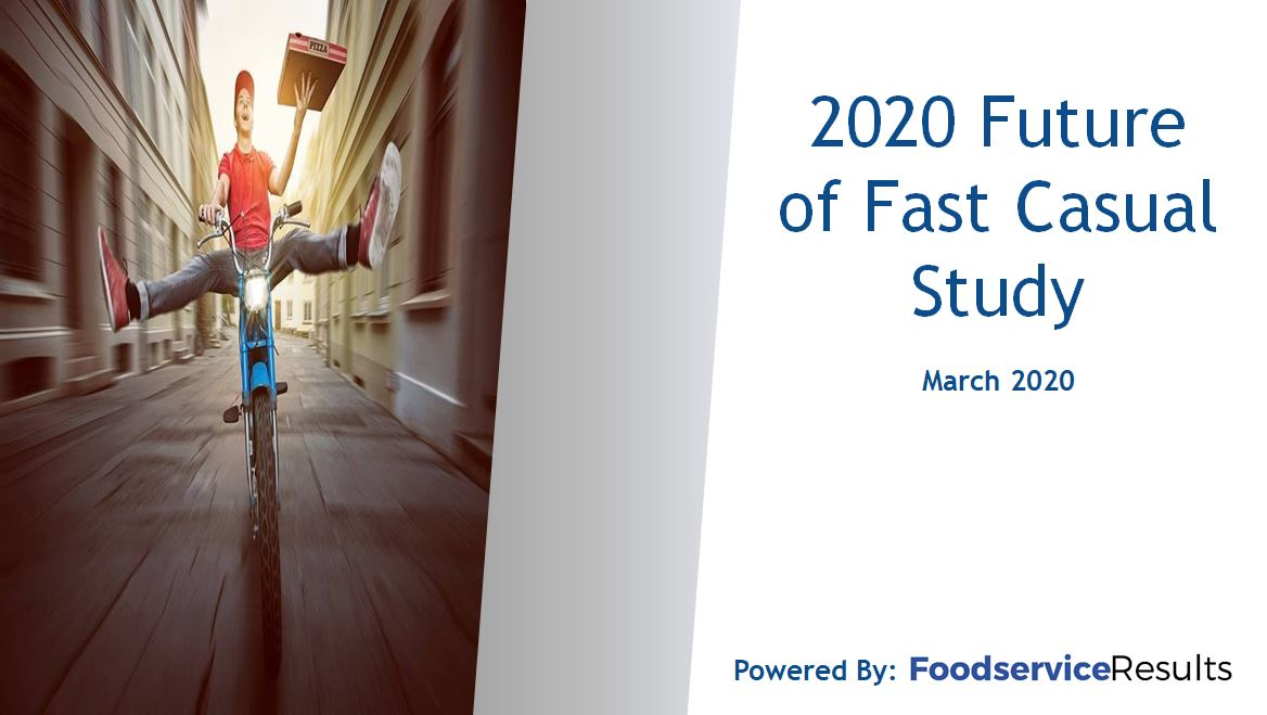 Future of Fast Casual 2020 Cover page